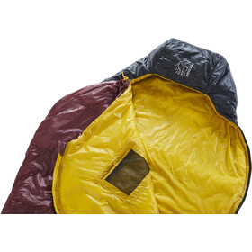 Nordisk Oscar +10° Curve Sac de couchage L, rio red/mustard yellow/black